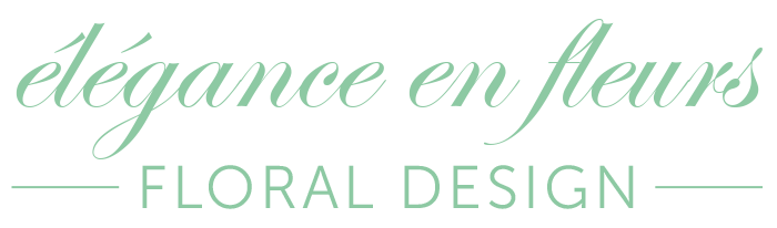 élégance en fleurs - floral design